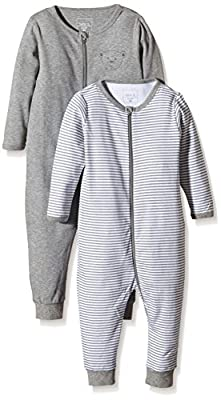 NAME IT Nitnightsuit Zip M Noos - Pijama Bebé-Niñas
