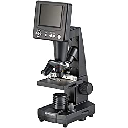 "BRESSER Microscope d'enseignement LCD 8.9cm (3.5""), 50-500x, 2000 (digital)"