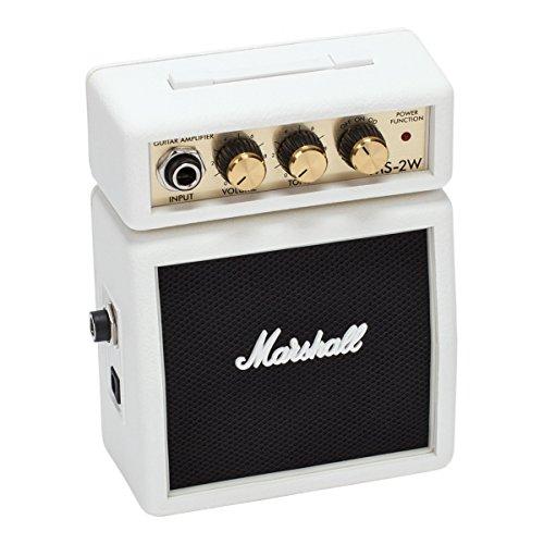 Marshall Mini-Gitarrenverstärker 2W weiß batteriebetrieben
