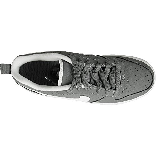 Nike Herren Court Borough Low (Gs) Basketballschuhe Grau (Cool Greywhite)