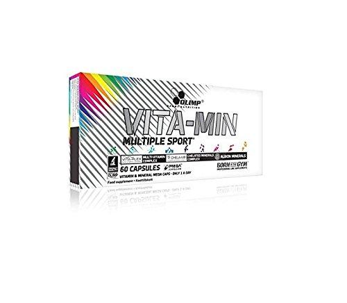 Vitamin Pack (Olimp Vita-Min Multiple Sport 60 Kapseln, 1er Pack (1 x 81 g))