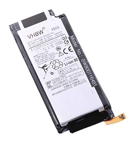 vhbw litio-polimeri batteria 3450mAh (3.8V) per cellulari e smartphone Motorola Moto X Force Dual SIM, Force XT1580, Force XT1581, Force XT1585