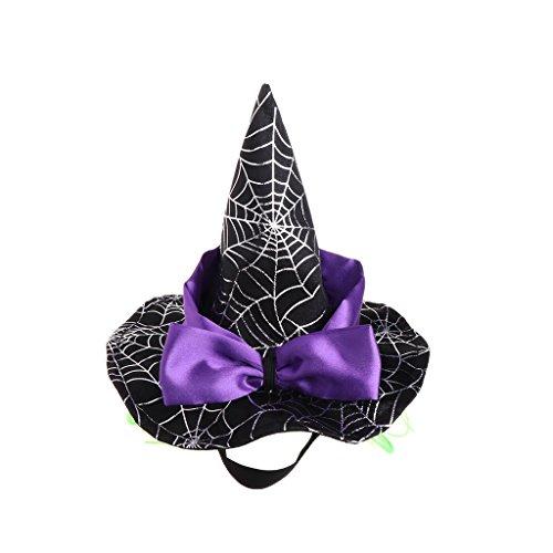 Kostüm Valentinstag Anti - Lyguy, Haustiermütze, Zauberer, Kostüm, Hut, Cosplay, für Hunde und Katzen, Welpen, Haarzubehör für Halloween