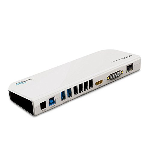 USB 3.0auf mehrere Universal Docking Station 7Port Hub & HDMI & VGA & Ethernet-LAN & Audio All in One