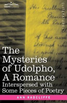 Portada del libro [(The Mysteries of Udolpho, a Romance : Interspersed with Some Pieces of Poetry)] [By (author) Ann Ward Radcliffe] published on (November, 2008)