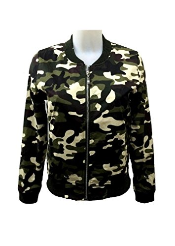 Lange Ärmel Camouflage Gezippt Camouflage Dünn Army Militär Jacke Zipjacke übergangs Bomberjacke