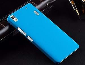 Onkarta Premium Quality Hard Back Shell Case Cover For Lenovo A7000 - Sky Blue