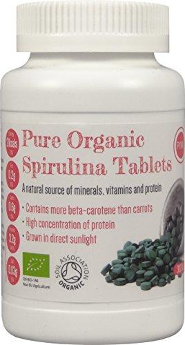 PINK-SUN-Organic-Spirulina-Tablets-300-x-500mg-Tabs-Certified-Organic-by-the-Soil-Association-150g
