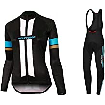 Uglyfrog Bike Wear De Manga Larga Maillot Ciclismo Mujer Bodies Long Bib Tights with Gel Pad