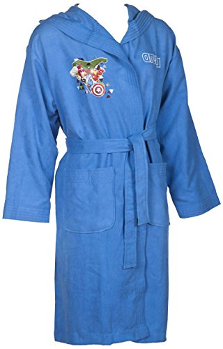 arena DM Bathrobe Bademantel, mehrfarbig (Marvel Avengers), L