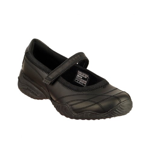 Skechers Velocity - Pouty, Ballerines Fille Noir