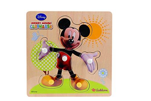 Imagen principal de Eichhorn 100003301 Puzzle de madera para bebés, surtido: modelos aleatorios