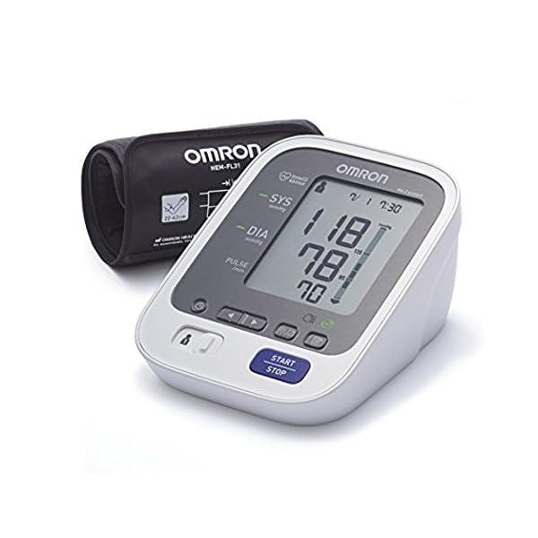 OMRON Healthcare M6 Comfort Misuratore Pressione Sanguigna da Braccio, Tecnologia IWC per una Misurazione Precisa in Qualsiasi Punto del Braccio, Memoria fino a 200 Misurazioni 1 spesavip