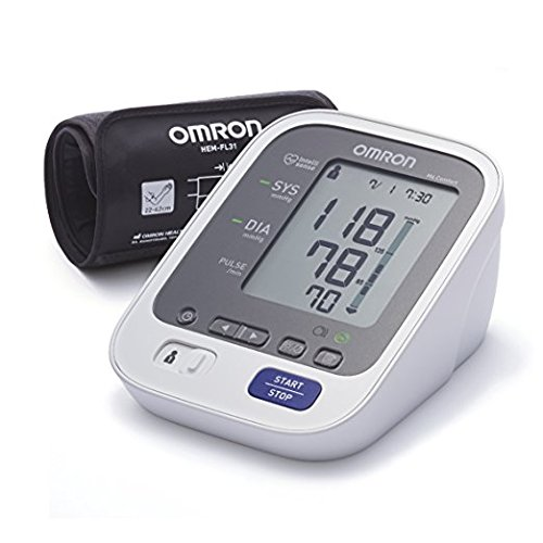 OMRON M6 Comfort Misuratore di Pressione, Tecnologia Intelli Wrap Cuff per una Misurazione Precisa in Qualsiasi Punto del Braccio, Memoria fino a 200 Misurazioni