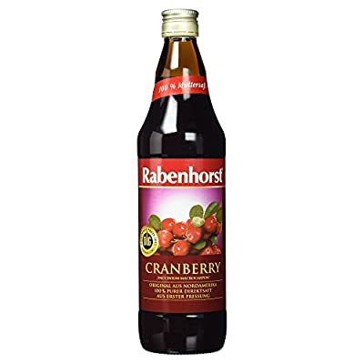 Rabenhorst Bio Cranberry Muttersaft Mehrweg, 750 ml