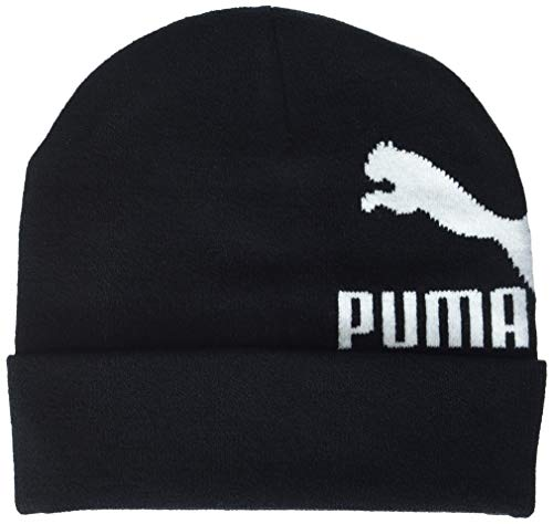 PUMA Erwachsene Archive Logo Beanie Mütze, Black, Adult