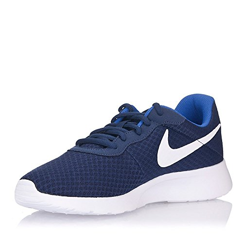 Nike Tanjun - Zapatillas Unisex, Color Negro/Blanco, Talla 40.5, Azul Marino/Blanco/Azul (Midnight Navy/White-Game Royal), 40.5 EU