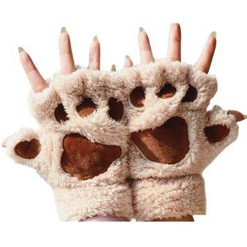 Katomi otoño invierno dedo medio guantes guantes