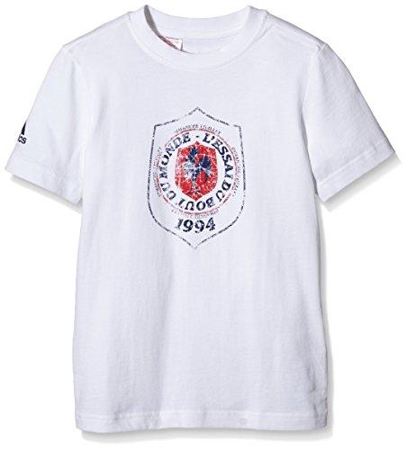 Adidas Test des Ende der Welt FFR Jungen T-Shirt Weiß fr: 8Jahre (Größe Hersteller: 8Jahre)