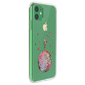 Fantasyqi Handyhülle Kompatibel mit iPhone 11 Pro 5.8 Hülle Transparent Muster Schutzhülle Silikon Hochwertigem Soft TPU Ultra Slim Stoßfest Ultradünne Schale Kratzfest Slim Shell Case