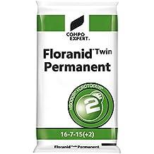 Compo Expert floranid® TWIN permanente 16+ 7+ 15(+ 2+ 8) largo tiempo abono abono Fertilizante universal Césped 25kg