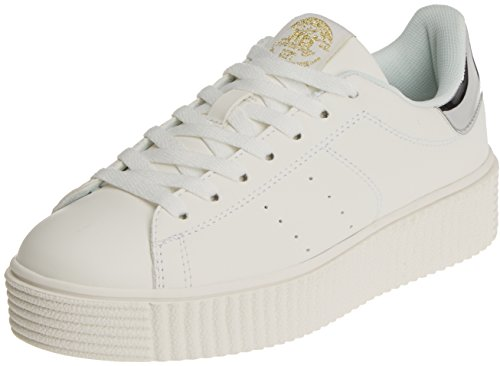 XTI Damen 046987 Sneaker Weiß (White)
