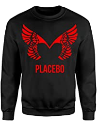 Unisex-Sweatshirt Placebo Red Print - Set-In Sweatshirt LaMAGLIERIA