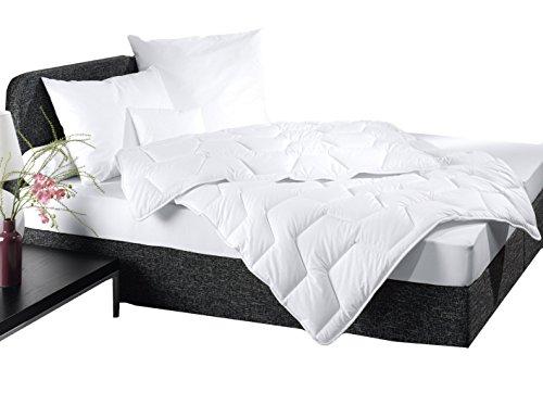 """ZOLLNER® allergiker Steppdecke / Bettdecke 135x200 cm, Füllgewicht ca.1100 g, vom Hotelwäschehersteller, Serie """"Alpha"""""""