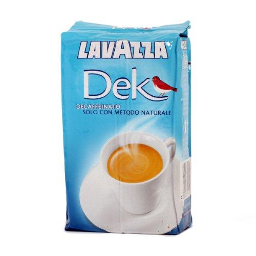 Lavazza DEK Kaffee Gemahlen Entkoffeiniert 8x250gr