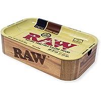 RAW RAWBOXCACHE Spetebo-Caja de madera con imanes y bandeja de metal (28 x 17,5 x 7 cm)