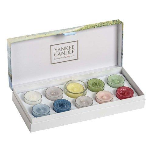 Yankee Candle Costal Living 10Teelicht Kerzen Geschenk-Set, mehrfarbig