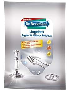 Dr.Beckmann - Lingettes Argent et Métaux Précieux x12 - Lot de 2