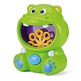 Bubble Buddies Kids Bubble Machine, Automatic Bubble Maker, Hippo