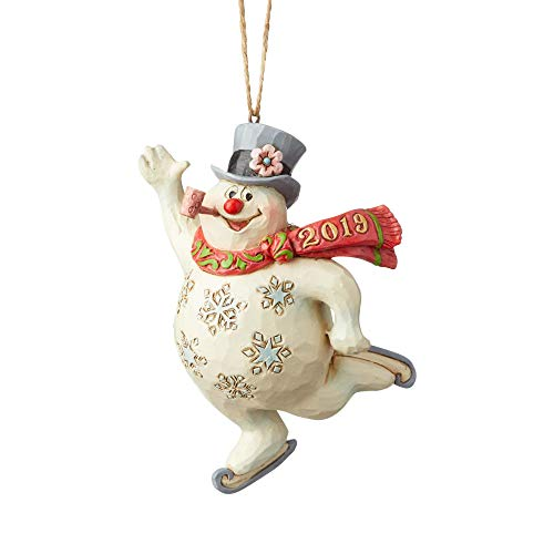 ENESCO Frosty The Snowman by Jim Shore Schlittschuhe