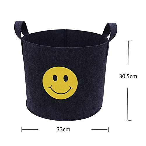 Grow Bags - 5pcs Lot 5 7 Gallon Round Fabric Pots Black Plant Grow Bags With Handles Planting Bag Seedling - Rectangular Seedling Gallon Kids Colorful Bottoms Indoor Pots Bags Multiple Black B