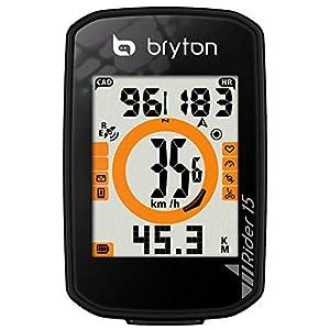 414lrna2KUL. SS300 Bryton Rider 15 Computer GPS, Nero
