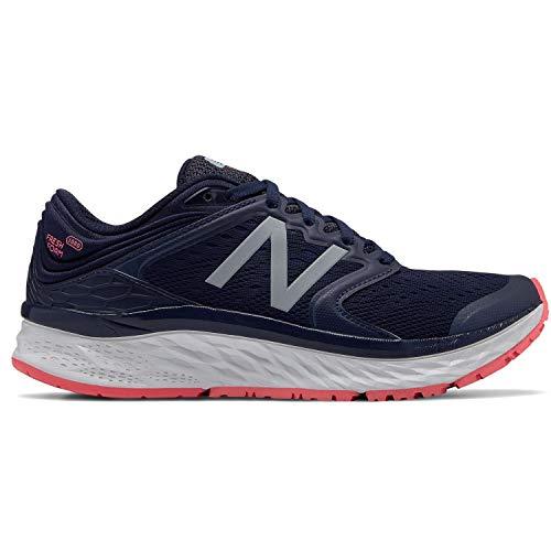New Balance 1080v8, Zapatillas de Running Mujer, Pigment/Pink, 40 EU