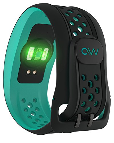 Mio FUSE Performance Activity Tracker mit Herzfrequenzmessung, Aqua, S/M - 4