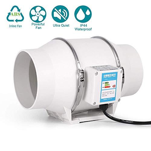 ZQYR Extractor Fans@ 95mm Abluftventilator mit Einstellung in Zwei Positionen (hoch/niedrig), 35W, 220-240V, Luftvolumen: 220 m³ / h