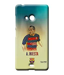 Illustrated Iniesta - Sublime Case for Microsoft Lumia 540