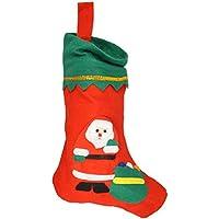 Borsa di Natale / calzino / stivali - Babbo Natale sacchetto regalo 35 x 23 centimetri