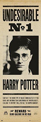 Poster de porte Harry Potter - Undesirable N° 1 (53cm x 158cm)