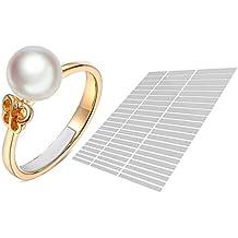 anillo ajustador invisible (Blanco 63-Película) Eiito reductor 7 tamaños diferentes anillo Reducir