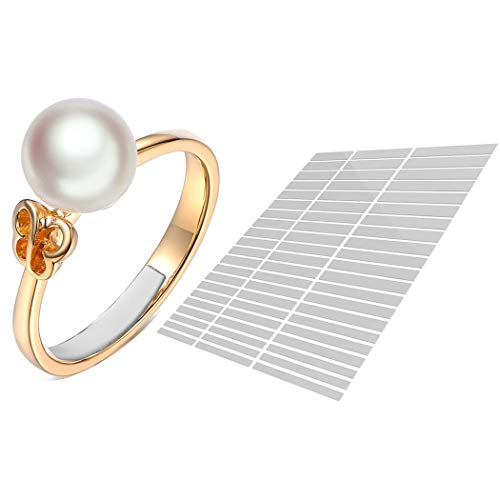 anillo ajustador invisible (Blanco 63-Película) Eiito reductor 7 tamaños diferentes anillo Reducir el tamaño del anillo
