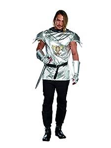 DreamGirl disfraz de hombre Royal Warrior Knight disfraz de tiempo