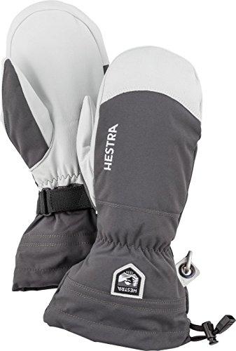 Heli-ski (Hestra Damen Army Leather Heli Ski Mitt Skihandschuhe Fingerhandschuhe)