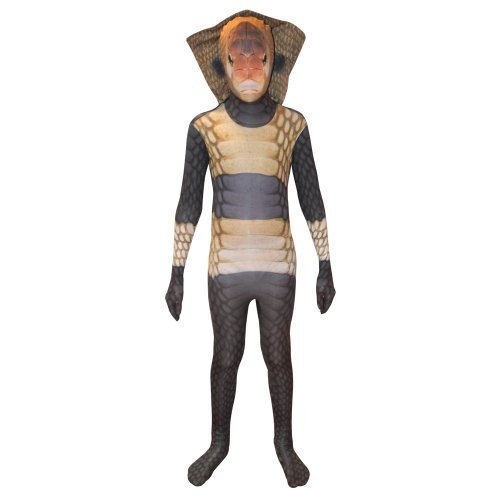 Morphsuits Kids Animal Planet King Cobra Costume, Small by ()