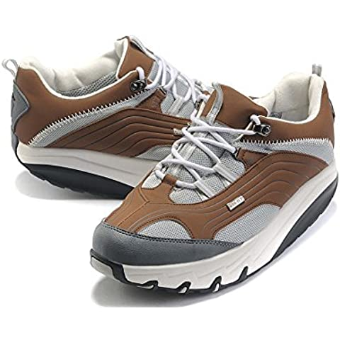 Donna Chapa GTX Coffee Breathable Walking Shoes Trail Casual Running