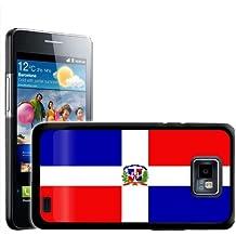 Fancy A Snuggle - Carcasa rígida para Samsung Galaxy S2 i9100, diseño de bandera de