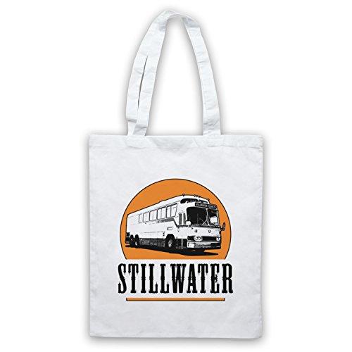 Inspiriert durch Almost Famous Stillwater Inoffiziell Umhangetaschen Weis